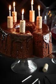 wine chocolate chocolate wine chiffon cake 5