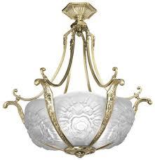 Art Nouveau Lighting Chandelier Vintage Hardware U0026 Lighting Art Nouveau Short French 6 Light