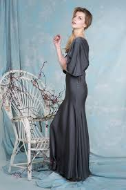 ghost wedding dress gaby dress in charcoal fashion charcoal london