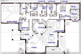 one story open house plans smartness inspiration 4 bedroom house designs australia 8 one