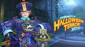 overwatch halloween terror skins for reaper mei zenyatta and
