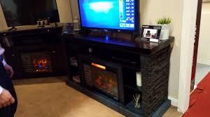classicflame 26mm2630 e454 matterhorn fireplace tv stand product