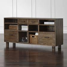 Crate And Barrel Bar Cabinet Oak Park Ii Credenza Crate And Barrel