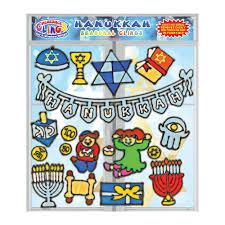 hanukkah window decorations hanukkah gel clings for kids toddlers window clings