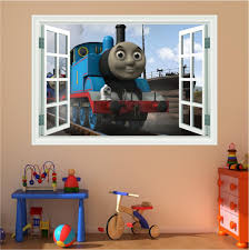 17 thomas the tank wall decals thomas the tank engine peel stick thomas the tank engine window full colour print wall art sticker decal