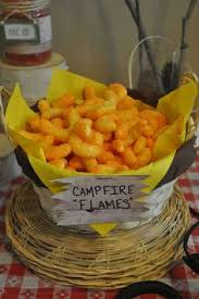 forest or camping themed classroom ideas campfire cupcakes