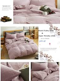 Sizes Of Duvet Covers Amazon Com Mkxi Simple Bedroom Collection 3 Pieces Purple Queen