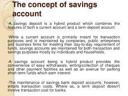 deregulation of savings interest rate