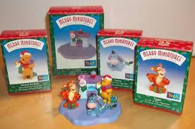 hallmark merry miniatures winnie the pooh set of 4