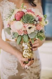 bouquet wedding beautiful succulent wedding bouquets weddbook