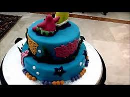 a birthday cake by sam u0027s cake factory youtube