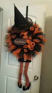 Deco Mesh Halloween Wreath Ideas by Best 25 Halloween Deco Mesh Ideas Only On Pinterest Halloween
