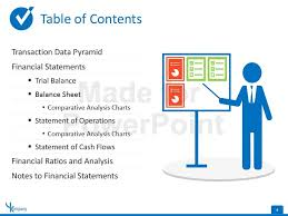 powerpoint table of contents template powerpoint diagram for
