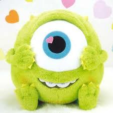 monsters hj heart chibi ver plush doll mikey