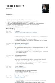 Sample Resume For Office Work by File Clerk Resume Sample Haadyaooverbayresort Com