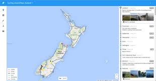 Online Map Maker Your Travel Blog Centered On An Interactive Map Travelmap