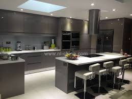 used kitchen furniture china hangzhou high gloss lacquer modular kitchen cabinets