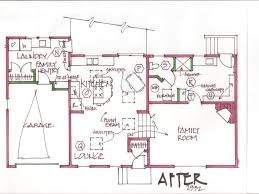 split level floor plans interior stunning split level remodel before and after home