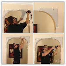 How To Decorate A Dining Room Wall Best 25 Archways In Homes Ideas On Pinterest Crown Tools