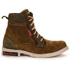s leather boots shopping india bacca bucci s leather boots olive from bacca bucci