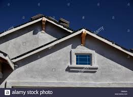 Hip Roof Images by New Home Hip Roof Stucco Stock Photos U0026 New Home Hip Roof Stucco