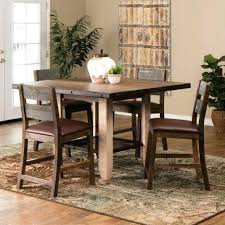 home decore furniture rustic counter height dining table sets rustic counter height dining