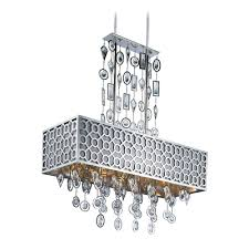 Maxim Chandeliers Maxim Lighting Symmetry Polished Nickel Pendant Light With