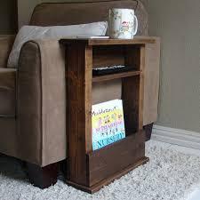 tablette pour canapé canapé chaise bras reste support de table avec tablette et