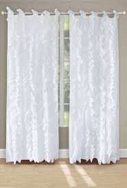White Window Curtains Waterfall White Window Curtains Vertical Tab Top Shabby