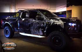 Ford Raptor Truck Wraps - portfolio wrap city
