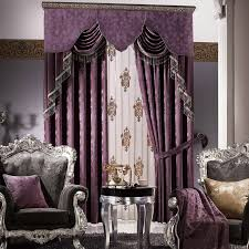 ideas lovely purple valances for bedroom black out window panels