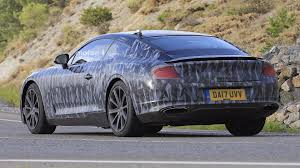 bentley continental gt caught showing more of its sensual lines