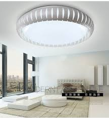 Led Bedroom White Round Ceiling - led dimming toner bedroom ceiling lamp minimalist atmosphere round