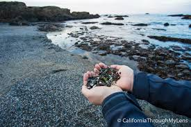 glass beach glass beach in fort bragg where the ocean took trash and gave