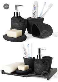4pcs ceramic bathroom accessories bathroom set household items