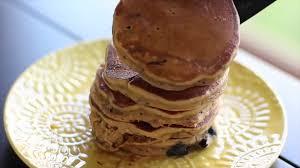 Blueberry Pancake Recipe Fluffy Blueberry Pancakes Recipe Tastemade