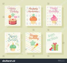 graphic design birthday invitations happy birthday invitation card baby greeting stock vector
