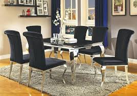 amazon dining table and chairs black dining room sets glam dining table set black dining room