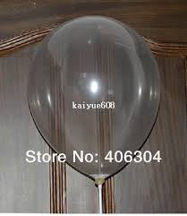 custom balloon bouquet delivery 18 inch big clear transpraent balloons birthday party decoration