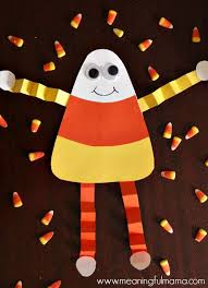 Holiday Crafts For Kids Easy - best 25 candy corn crafts ideas on pinterest candy corn decor