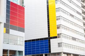 richard meier designed dutch city hall becomes massive mondrian