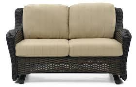 Wicker Glider Patio Furniture - dreux patio loveseat glider weir u0027s furniture