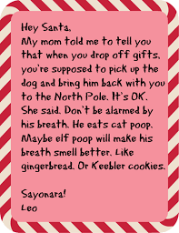 what happens when 8 cats write letters to santa catster