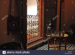 Moroccan Houses by Room In Traditional Moroccan House Fez Morocco Innenraum Stock