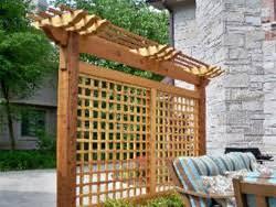 arbor vs trellis vs pergola cambridge fence