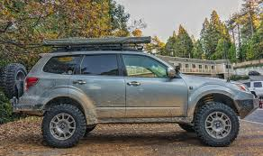 subaru sumo improve the look and the ground clearance of your subaru forester