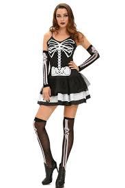 Skeleton Halloween Costume by 3pcs Skeleton Halloween Masquerade Costume Wholesale