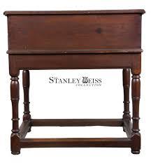Pine Secretary Desk by A William U0026 Mary Desk On Frame Hard Pine Probably Southern C