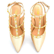 Color Image Online by Buy Online Bestsellers Stylish Golden Color Stilettos For Women