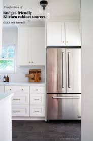 how to make cabinets appear taller comparison of budget friendly kitchen cabinet sources ikea